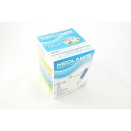 Nakłuwacz (nożyk) Medlance® Plus Universal 7044, niebieski 1op./200szt.