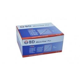 Strzykawki insulinowe BD® 1ml z igłą 0,33mm (29G) x 12,7mm 10szt/op