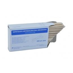 Szpatułki drewniane laryngologiczne, 100szt/op
