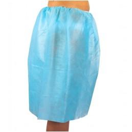 Spódnica ginekologiczna niebieska 1szt