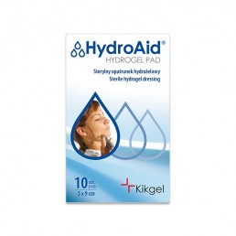 HydroAid® Sterylny opatrunek żelowy 5x9cm, 1szt.