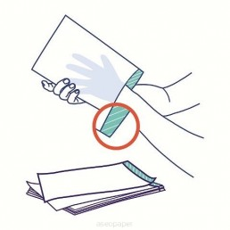 Myjka, rękawica włókninowa niepodfoliowana 50szt/op