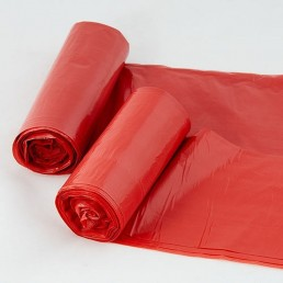 Worki czerwone na odpady medyczne 35L 50szt/rolka
