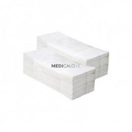Ręcznik ZZ biały Merida Optimum (VOB033) 2W, 160szt PZ33