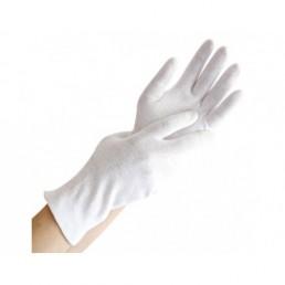 Rękawiczki bawełniane, rozm.M, 1para