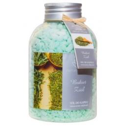 Zapachowa sól do kąpieli Bukiet Ziół, 670g