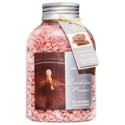 Zapachowa sól do kąpieli Czekoladowe Marzenie, 670g