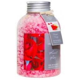 Zapachowa sól do kąpieli Kwiat Róży, 670g
