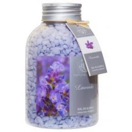 Zapachowa sól do kąpieli Lawenda, 670g