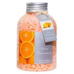 Zapachowa sól do kąpieli, owoc pomarańczy, 670g