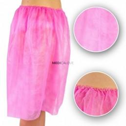 Spódnica ginekologiczna różowa 1szt