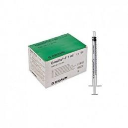 Strzykawka tuberkulinowa 3cz. B Braun Omnifix-F Solo bez igły, 1ml 100szt/op 9161406V