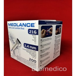 Nakłuwacz (igła 21G) Medlance® 2,4mm, 1op./200szt.