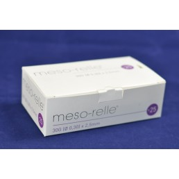 Igła iniekcyjna micro Mesorelle 30G (0.30)x2,5mm, 25szt.