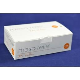 Igła iniekcyjna micro Mesorelle 27G (0.40)x2,5mm, 25szt.