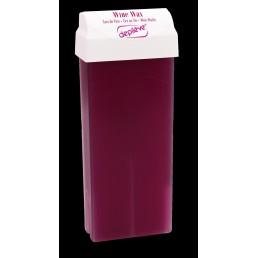 Wosk miękki - wkład czerwone wino z aplikatorem roll-on 100g