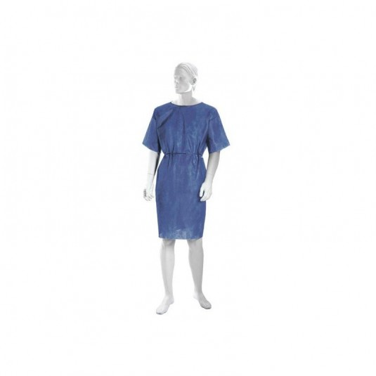 Koszula operacyjna z włókniny, niebieska, Matodress 10szt/opak.