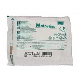 Matovlies Kompres z włókniny jałowy 30g, 4W, 10x10cm, a`2szt/op