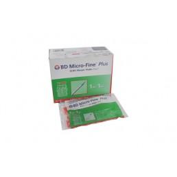 Strzykawki insulinowe BD® 1ml z igłą 0,30mm (30G)x8mm 10szt/op