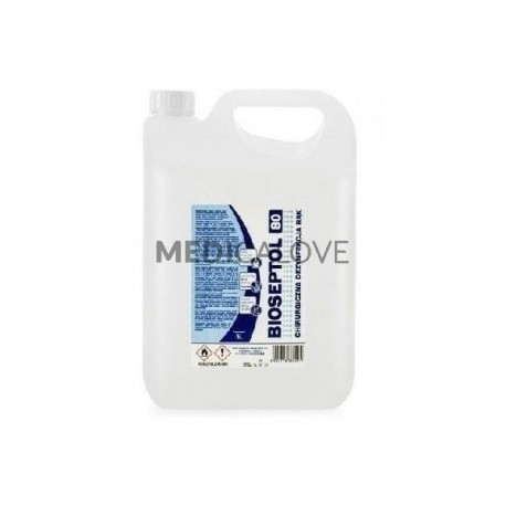 Bioseptol 80, 5l, alkoholowy płyn do dezynfekcji