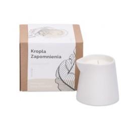 Świeca do masażu w kartonie (kropla zapomnienia-marcepan, biała czekolada), 250g