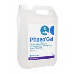 Phago`Gel z pompką 500ml, żel do higienicznej i chirurgicznej dezynfekcji rąk, 1szt