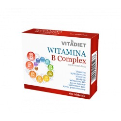 VITADIET Witamina B Complex, 60tab., 1opak