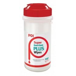 PDI Super Sani Cloth Plus Tuba, alkoholowe chusteczki 125szt/opak