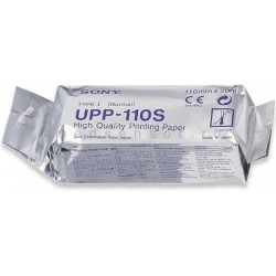 Papier do videoprintera USG Durico Ulstar 1100S 110mm x 20mtr, 1rolka zamiennik Sony UPP-110S