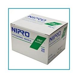 Igła iniekcyjna NIPRO 23G 0,6x16mm 100szt/op 2021-02
