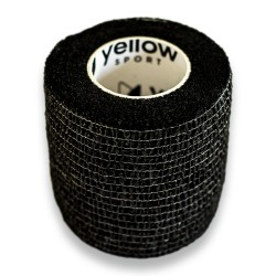 Bandaż Kohezyjny Non-Woven yellowBAND, bezlateksowy, uniwersalny, 5cmx4.5m
