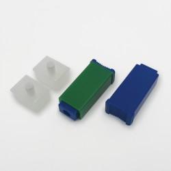 Nakłuwacz bezpieczny SafeLance (zielony) 21Gx2,4mm,100szt/op
