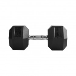 Hantel THORN+FIT Hex Rubber Dumbbell 25kg