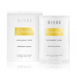 Dives C-ACTIVE MASK ANTIOXIDANT FACE MASK, 5 szt