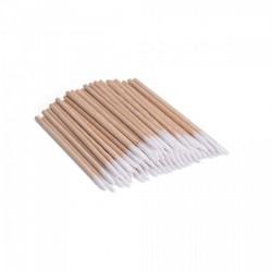 Patyczki drewniane z bawełną 100szt/op