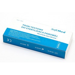 Paski testowe do sterylizacji parowej op. 200 szt., KLASA 4