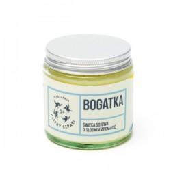 Cztery Szpaki - świeca sojowa o słodkim aromacie Bogatka 250ml