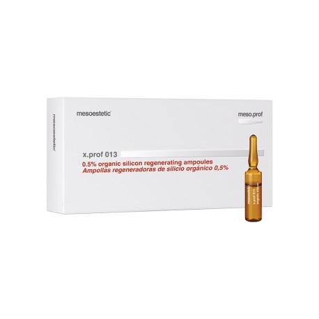Mesoestetic X.PROF 013 Organic silicon regenerating ampoules, 0,5%, krzem, T-PXPR0008, 20x5ml